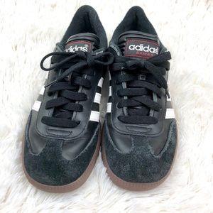 087439b9b Adidas Samba Classic Three Stripe Kids Shoes 3.5